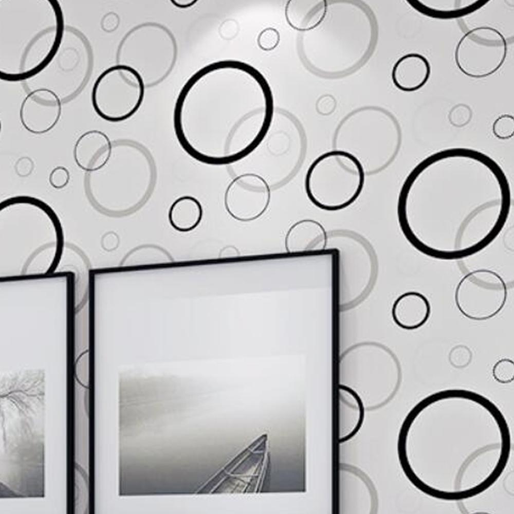 Wallpaper Sticker Dinding Minimalis Motif Ukuran 45cm X 10M S603