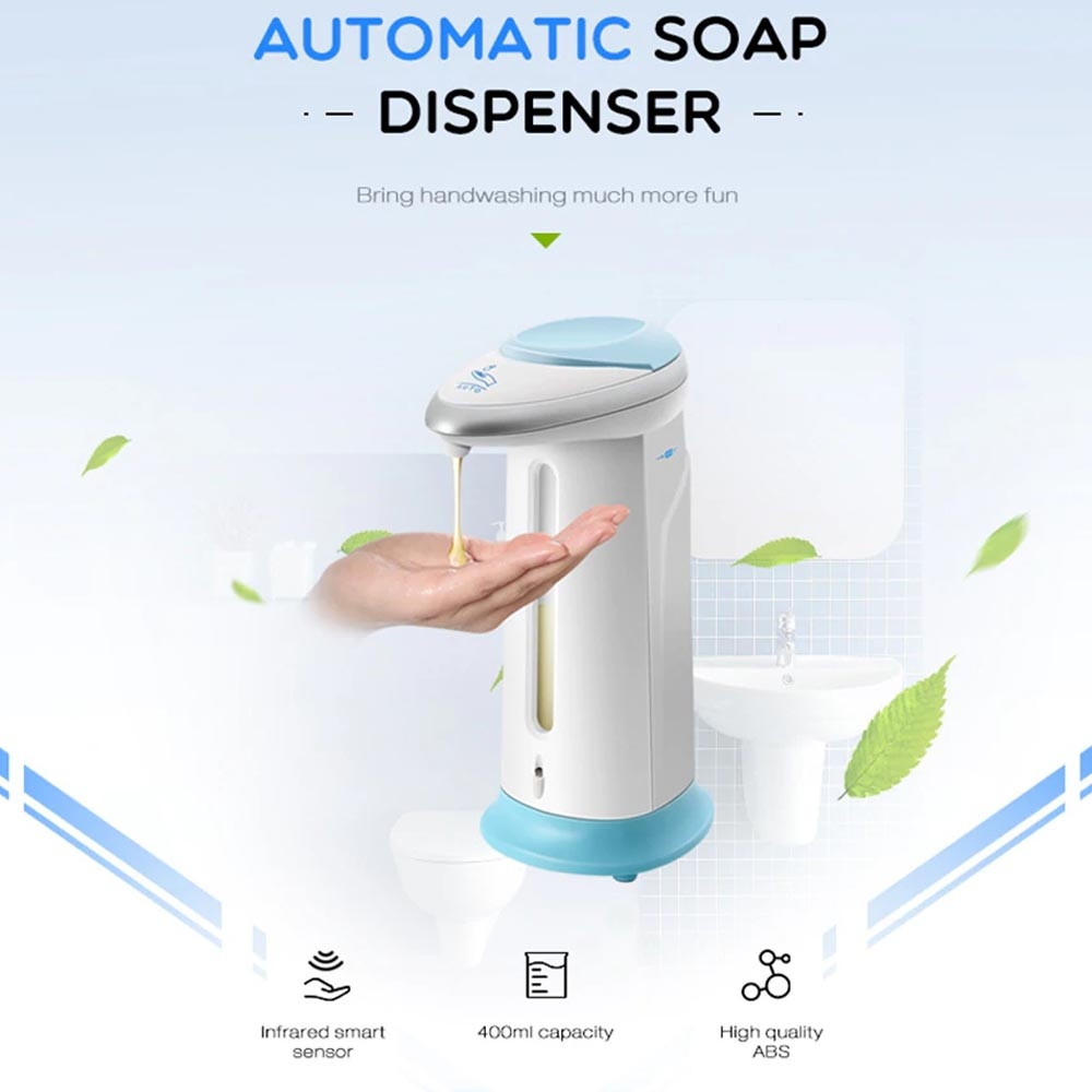 Soap Magic - Automatic Soap Dispenser / dispenser sabun cair automatis sensor tangan