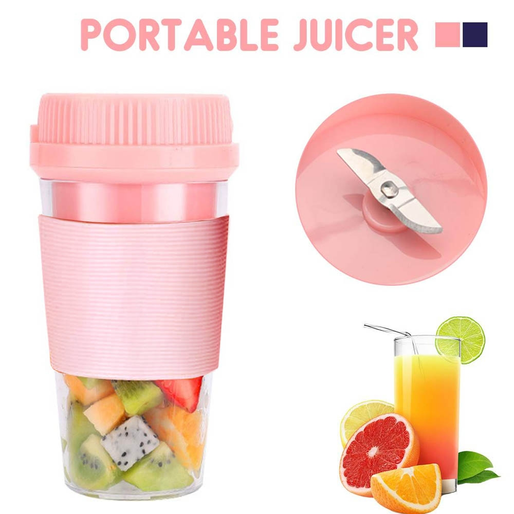 Termurah!!! Gelas Blender Juicer Portable / Juicer Mini Portable Blender Buah Cup 300 ml D01